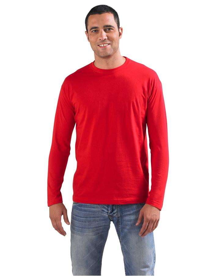Image of Pánské tričko s dlouhým rukávem MONARCH - Sol's